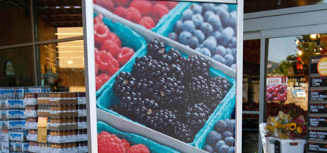 Duovue Perforated Vinyl Films Uncoated Products